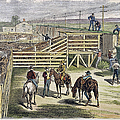 Shipping Cattle, 1877 by Granger