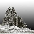 Shiprock Mountain Four Corners by Jack Pumphrey