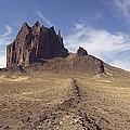 Shiprock, Volcanic Plug, Utah. by David Parker