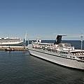 Ships At Port by Jaak Nilson