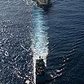 Ships From The John C. Stennis Carrier by Stocktrek Images