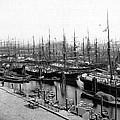 Ships In Harbour 1900 by Steve K