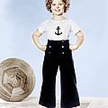 Shirley Temple, Studio Portrait, Ca by Everett