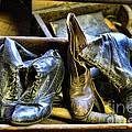 Shoe - Vintage Ladies Boots by Paul Ward