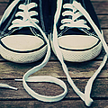 Shoes With Laces by VPhotography