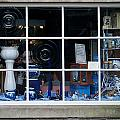 Shop Window England by David Kleinsasser