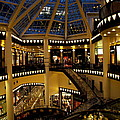 Shopping Mall In The Evening by Christiane Schulze Art And Photography