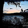 Shoreline Sunset by Susan Herber