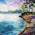 Shores Of Lake Lanier Georgia by Ginette Callaway