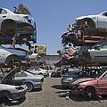 Shot Of Junkyard Cars by Noam Armonn