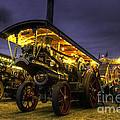 Showmans Engine By Night  by Rob Hawkins