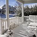 Showy Porch by Sally Weigand