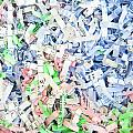 Shredded Paper by Tom Gowanlock