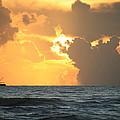 Shrimp Boat Sunrise by Mandy Shupp