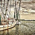 Shrimp Boats by Calvin Smith