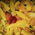 Shrimp N Pasta by Michael Merry