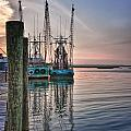 Shrimpin' Boats by Brian Mollenkopf