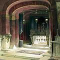Shrine Of The Annunciation Nazareth by Munir Alawi