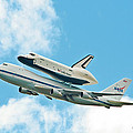 Shuttle Enterprise Comes To Ny by Regina Geoghan