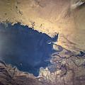 Shuttle Photograph Of Kuwait, Iraq & Iran by Nasa