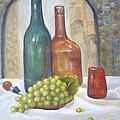 Sicily Italy Wine Tasting by Katalin Luczay
