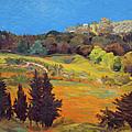 Sicily Landscape by Judith Barath