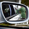 Side View Mirror by Photo Researchers