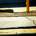 Sidewalk Abstract by Lenore Senior