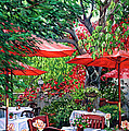 Sidewalk Cafe by Lisa Reinhardt