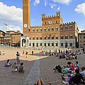 Siena Italy - Piazza Del Campo by Matthias Hauser