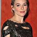 Sienna Miller Wearing A Balmain Dress by Everett
