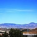 Sierra Nevada Mountains Near Granada Spain by John Shiron