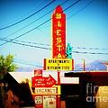 Siesta Motel On Route 66  by Susanne Van Hulst