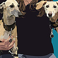 Sighthounds by Kris Hackleman