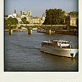 Sightseeings On The River Seine In Paris by Bernard Jaubert
