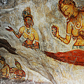 Sigiriya Fresco. Sri Lanka by Jenny Rainbow