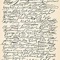 Signatures Attached To The American Declaration Of Independence Of 1776 by Founding Fathers