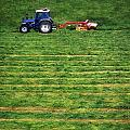 Silage Making, Ireland by The Irish Image Collection