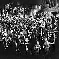 Silent Film Still: Crowds by Granger