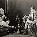 Silent Film Still: Smoking by Granger