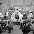 Silent Still: Courtroom by Granger