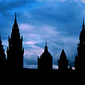 Silhouette Of Spanish Church by Jasna Buncic