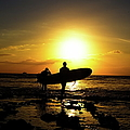 Silhouette Surfers by Rolfo