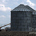 Silos And Augers by Alan Look