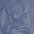 Silver Buddha by First Star Art