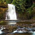 Silver Falls Waterfall by Adam Jewell