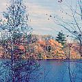 Silver Lake In Fall by Debbie Wassmann