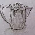 Silver Teapot by Caroline Street