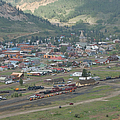 Silverton Colorado Painterly by Ernie Echols