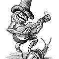Singing Frog, Conceptual Artwork by Bill Sanderson